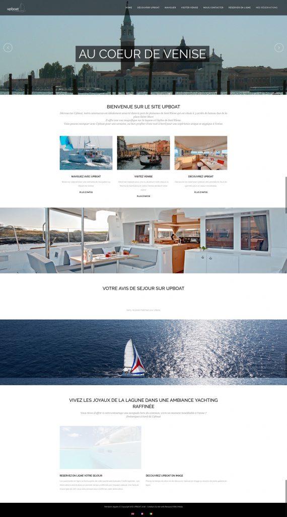 Upboat Home Main
